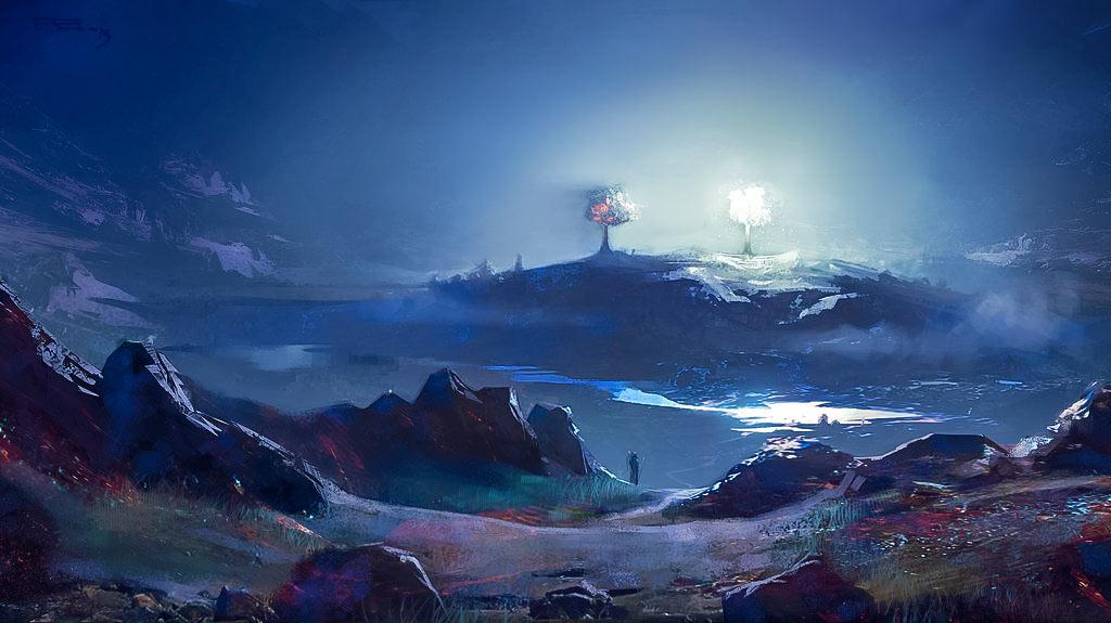 Valinor'un İki Ağacı: Telperion ve Laurelin