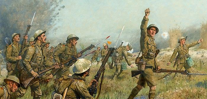 Tolkien'in Dünya Savaşı