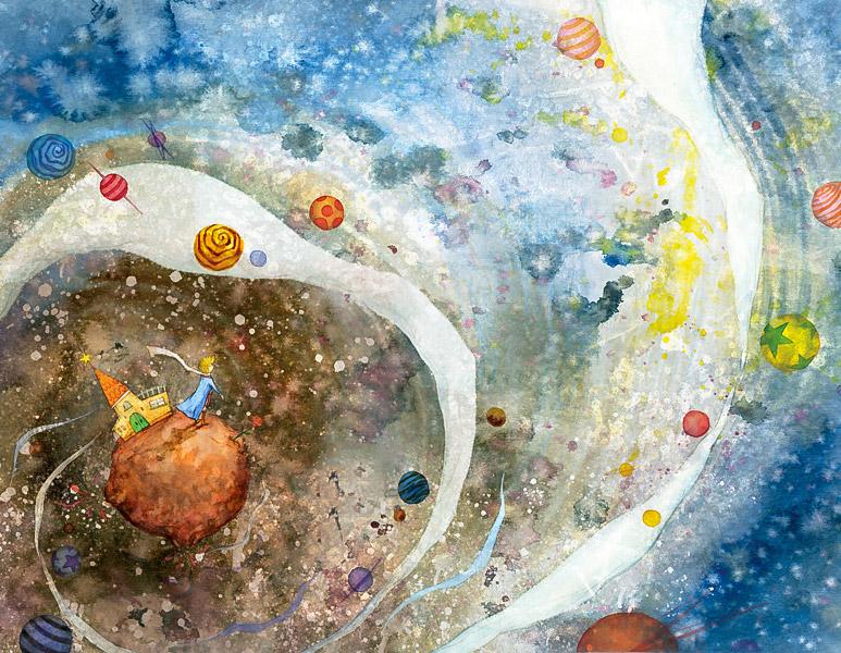 Küçük Prens ve Gezegenler