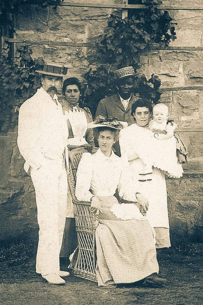 Bloemfontein'daki yıllarında Tolkien Ailesi / Kasım, 1892