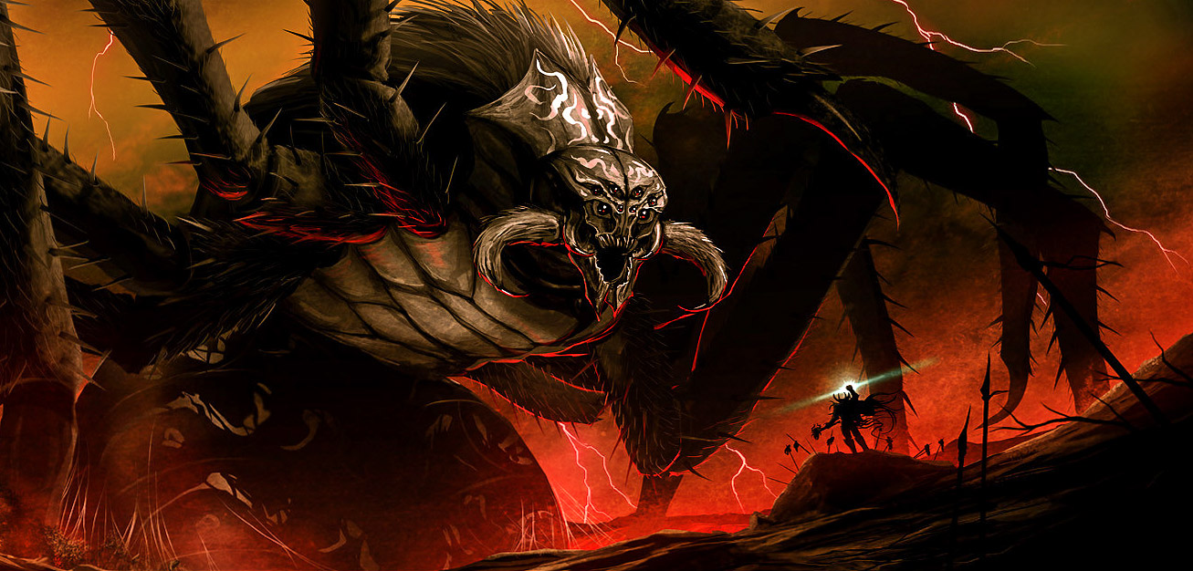 Ungoliant ve Melkor