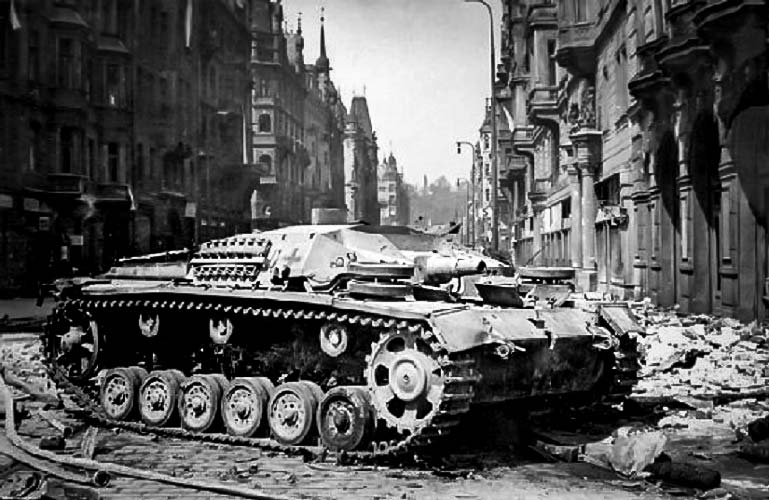2. Dünya Savaşı'nda Bir Alman Tankı