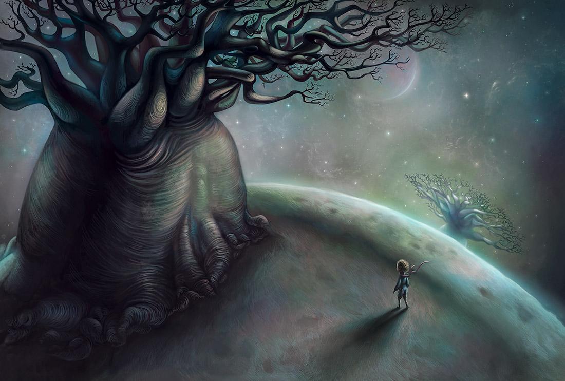 Baobab Ağaçları ve Küçük Prens
