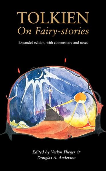 J.R.R.Tolkien'in 'Peri Masalları Üzerine' isimli eserinin kapağı