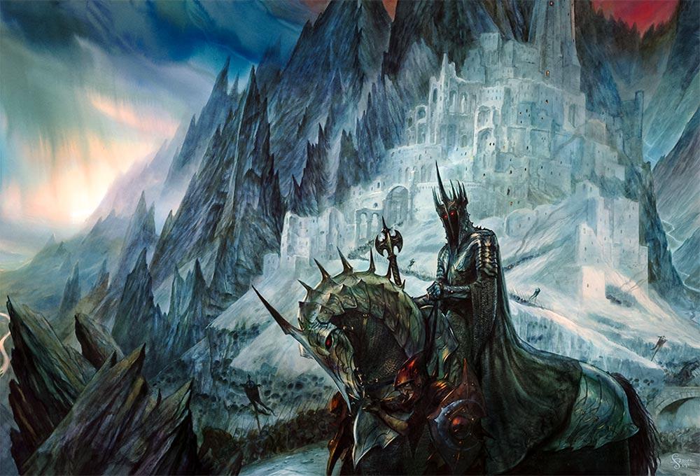 Angmar'da Büyücü Krallığı'nı kuran, Yüzüktayfları'nın Reisi, Cadı Kral.