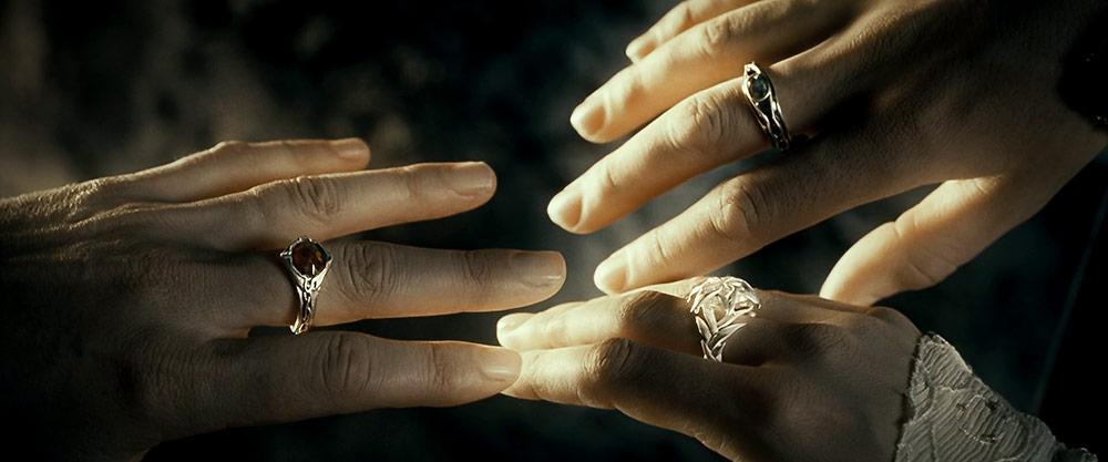 Elf Yüzükleri; Narya, Nenya ve Vilya