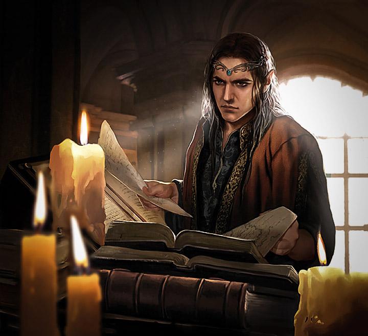 Elrond gibi Yüksek Elfler, Valar ile ilişkilerinden dolayı Müzik ve onunla birlikte gelen irfana yakındılar.