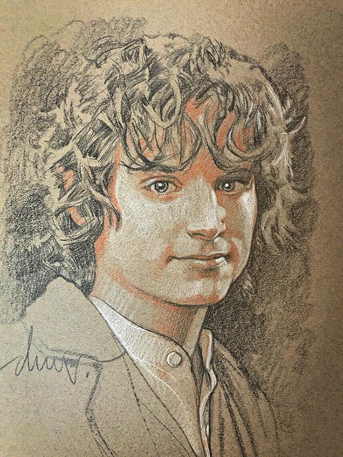 Yüzük Taşıyıcısı Frodo Baggins