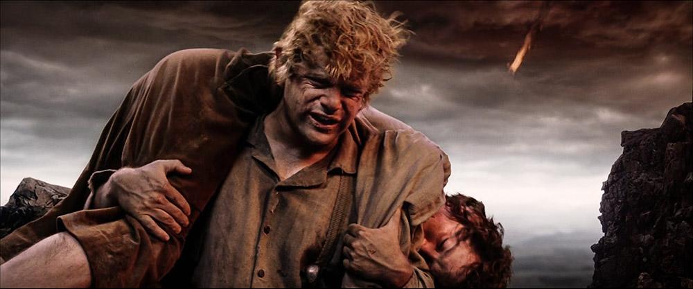 Frodo'nun takati kalmadığında onu ve aslında 'davayı' sırtında taşıyarak Orta Dünya'nın kaderini şekillendiren hakiki bir 'kardeş': Samwise Gamgee
