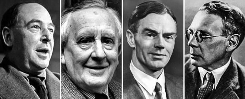 Inklings'in müdavimleri: C.S. Lewis, J.R.R. Tolkien, Owen Barfield, Charles Williams