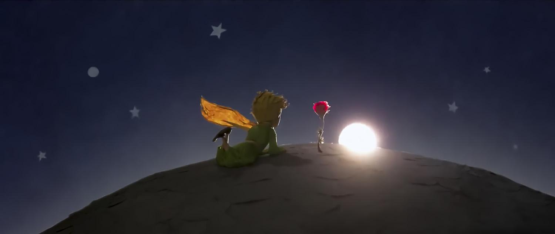 Küçük Prens, Sevgili Gülü ve Günbatımı