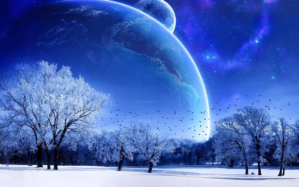 Tanrı yaptı kayamsı kayaları, ağaçsı ağaçları, dünyevi arzı, ve yıldızsı yıldızları...