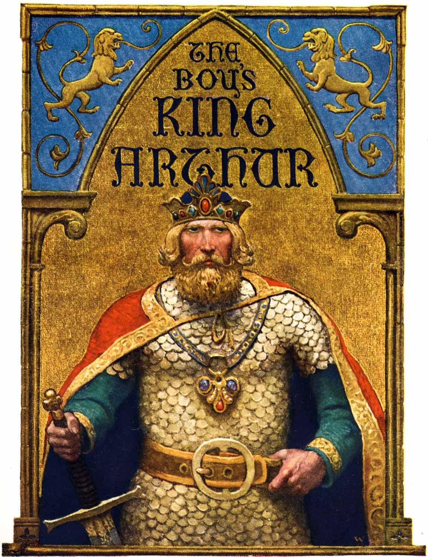 N.C. Wyeth'in fırçasından Kral Arthur