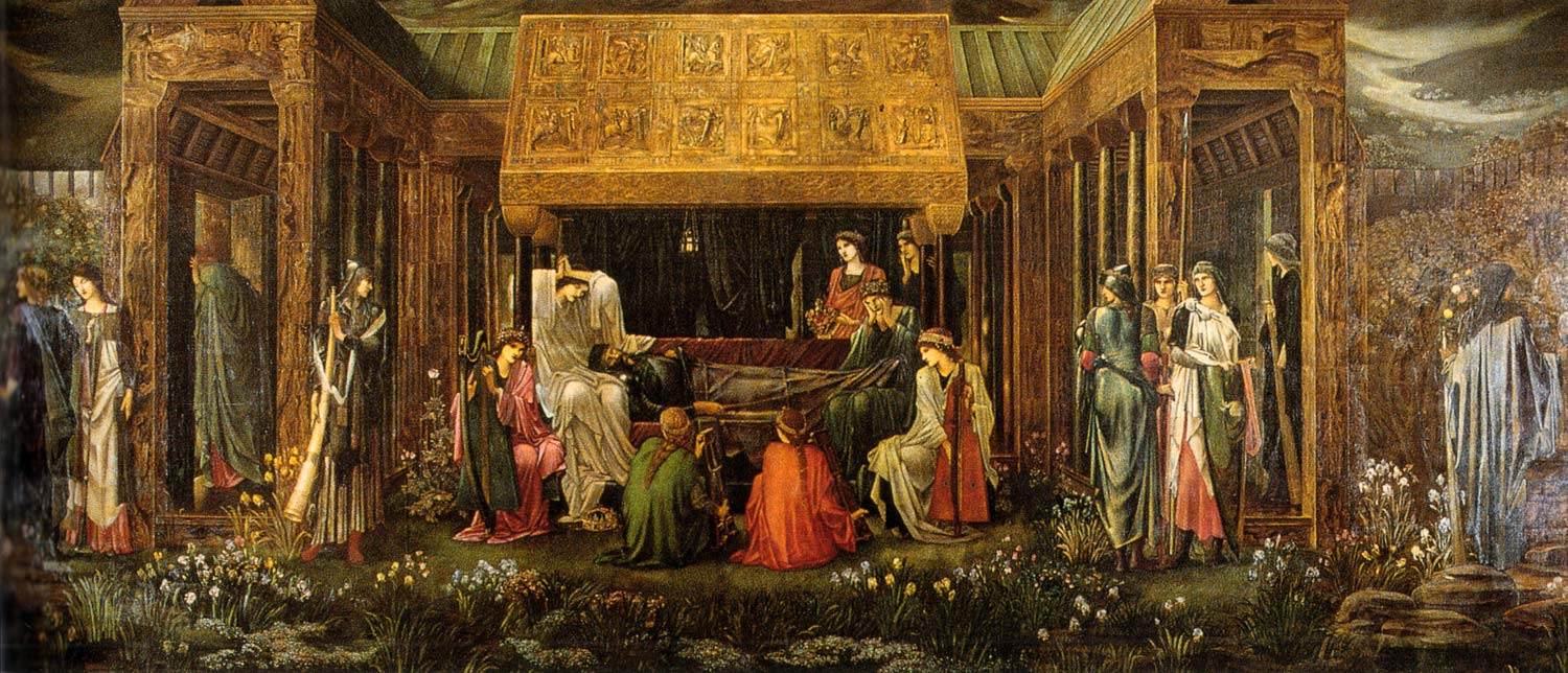"""Arthur'un Avalon'daki Son Uykusu"" - Edward Burne-Jones (1898)"