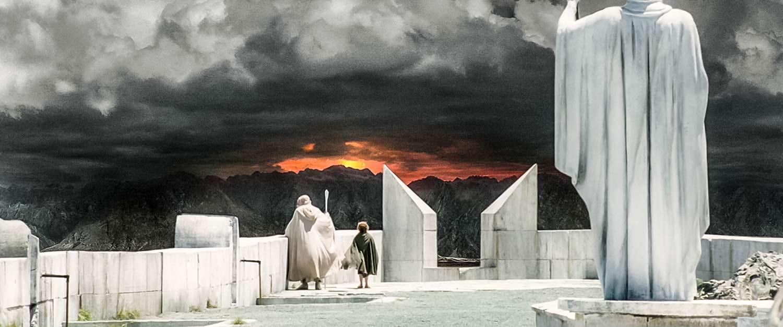 Sauron'un büyüsü ile karanlıklara bürünen Orta-Dünya