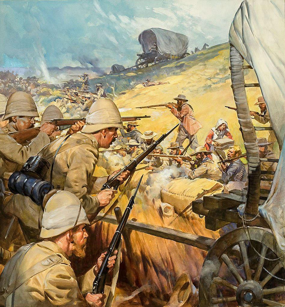 2. Boer Savaşı'ndan temsili bir tablo