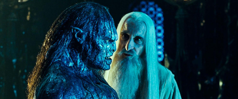 Saruman, Uruk-Hai'lerinin komutanı Lurtz'a orkların nasıl elflerden geldiğini anlatırken