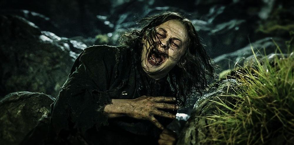 Tek Yüzük'ü bulduktan sonra dehşet verici bir transformasyon ile Gollum'a dönüşen hobbit: Smeagol