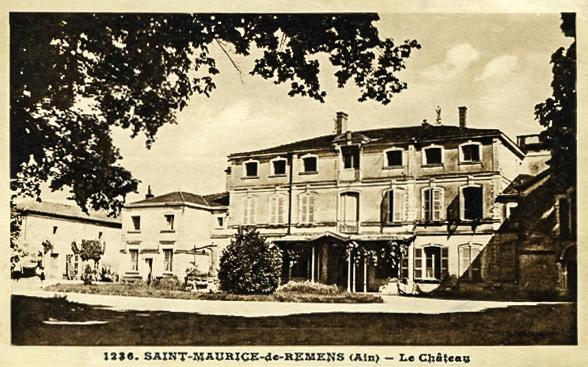 Antoine de Saint-Exupéry'nin çocukluğunun geçtiği Saint-Maurice-de-Rémens Şatosu