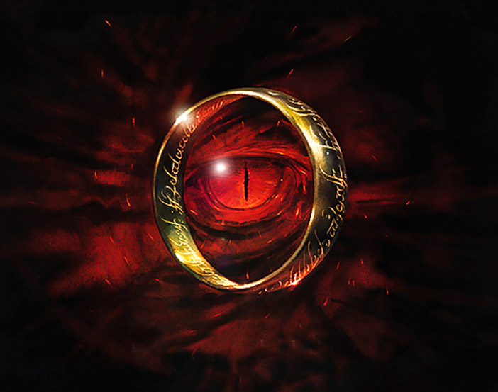 Tek Yüzük ve Sauron'un Her Şeyi Gören Gözü