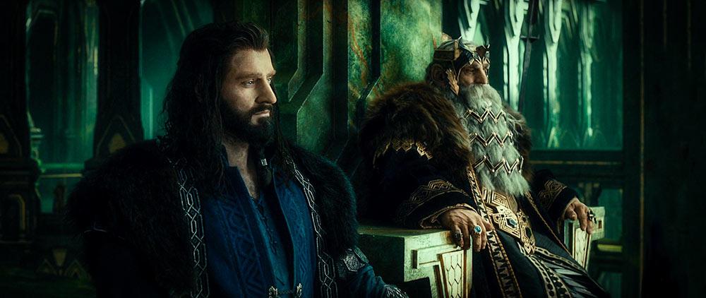 Thorin Meşekalkan ve yüzük sahibi dedesi Thrór