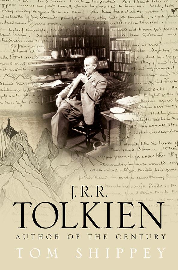Tom Shippey'nin 'J.R.R.Tolkien: Yüzyılın Yazarı' kitabının kapağı