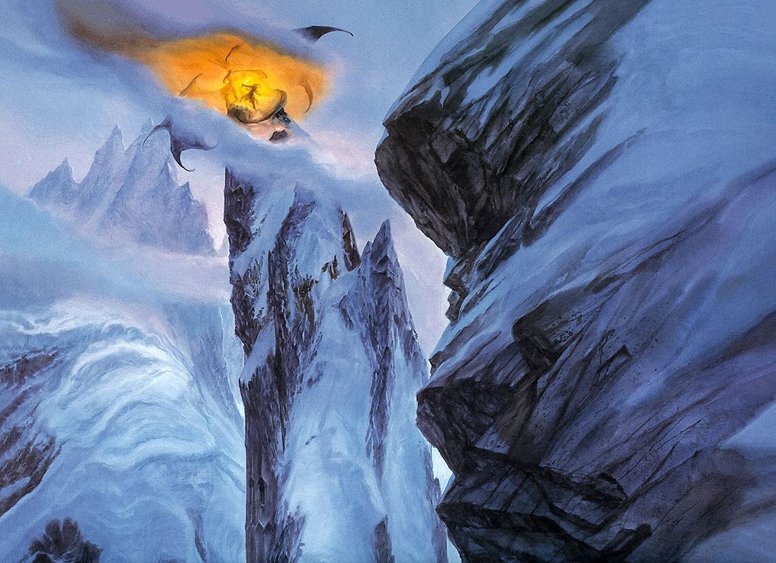 Gandalf ve Balrog, Zirak-zigil'de karşı karşıya.
