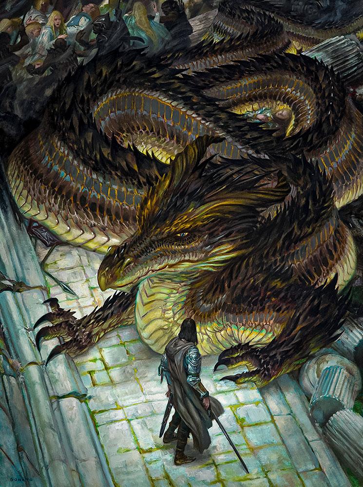 Túrin Turambar, Glaurung ile karşı karşıya