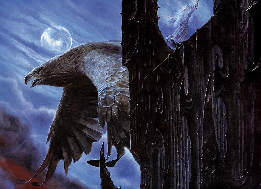 Gandalf ve Manwë'nin Kartalları'nın Lideri Gwaihir