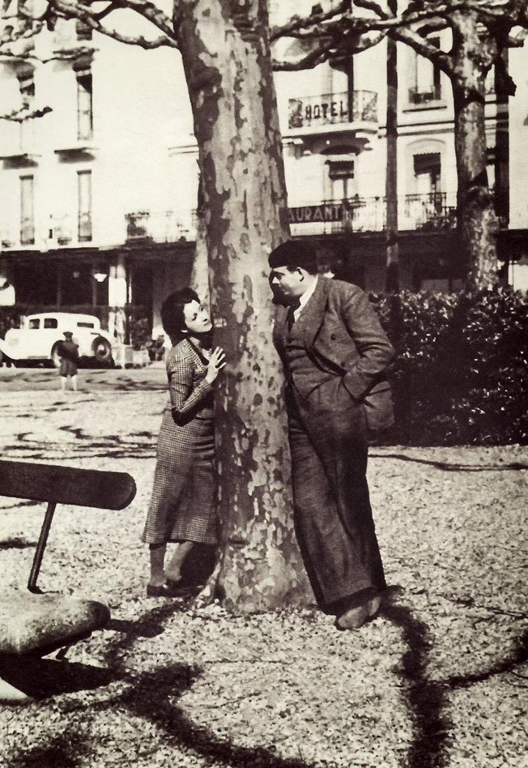Antoine de Saint-Exupéry ve eşi Consuelo