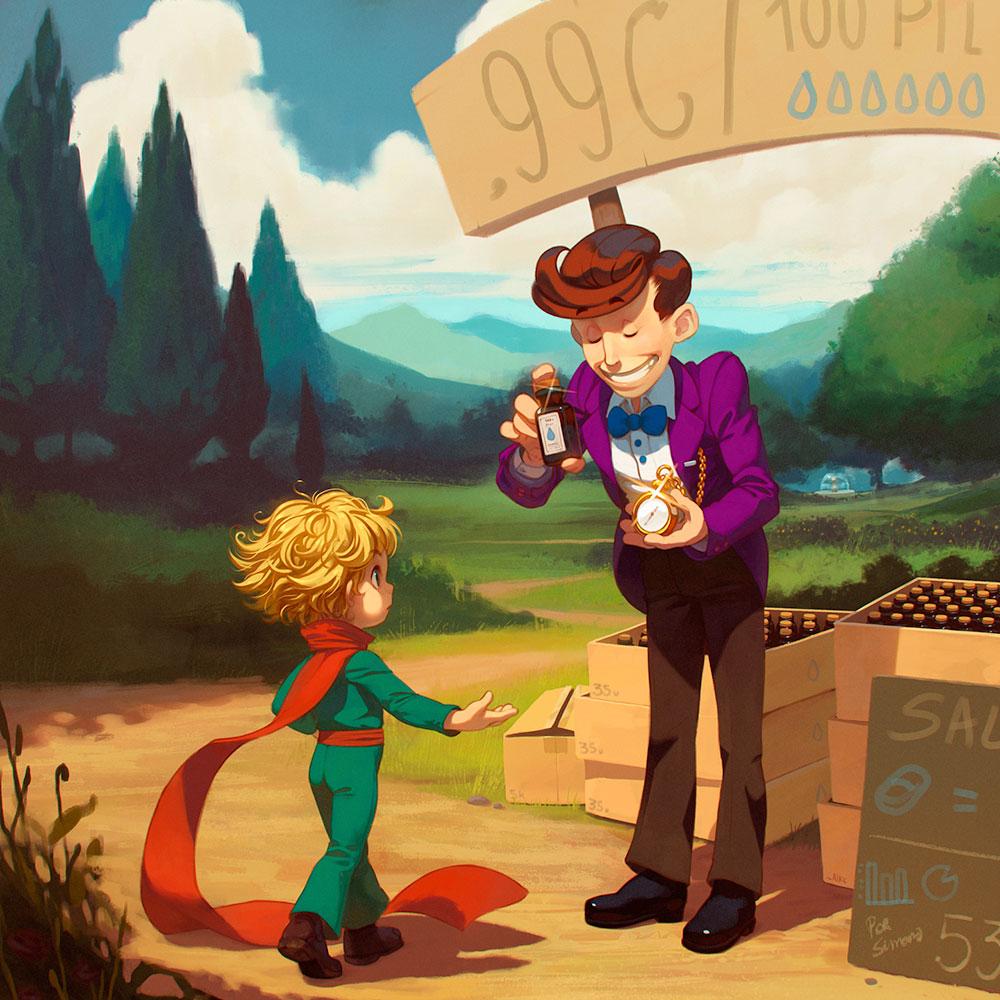 Küçük Prens ve Zaman Taciri