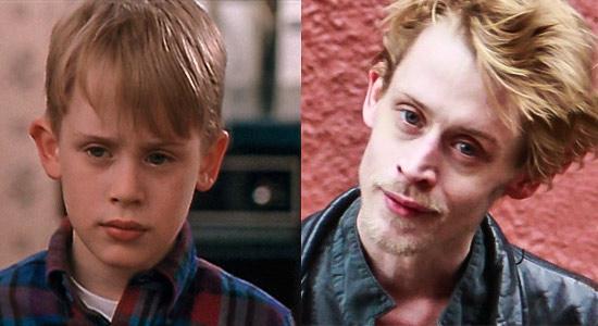 'Evde Tek Başına' filminin çocuk oyuncusu Macaulay Culkin'in yıllar içindeki değişimi