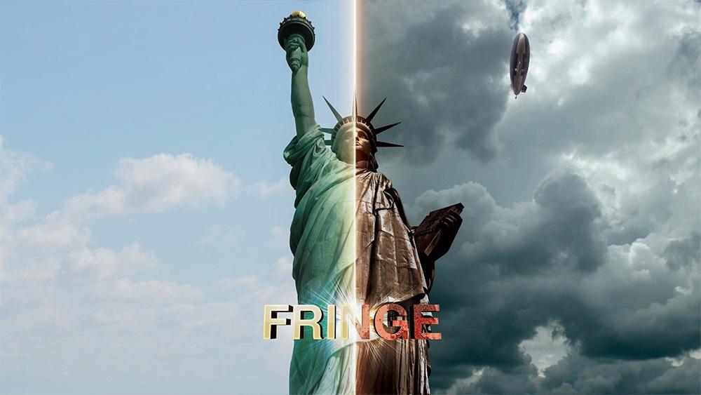 """""""Fringe"""" dizisinde zeplinlerin hala kullanıldığı bir paralel evren hayal edilmiş"""