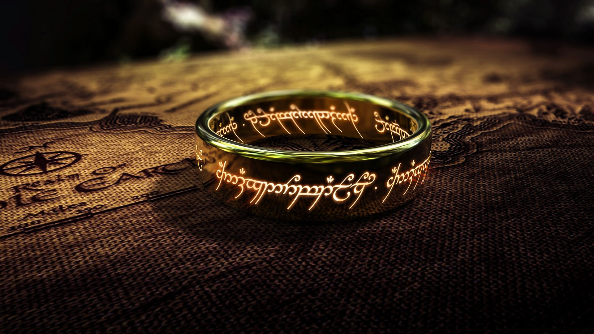 Sauron'un yaparken içine ruhundan da kattığı 'Tek Yüzük'