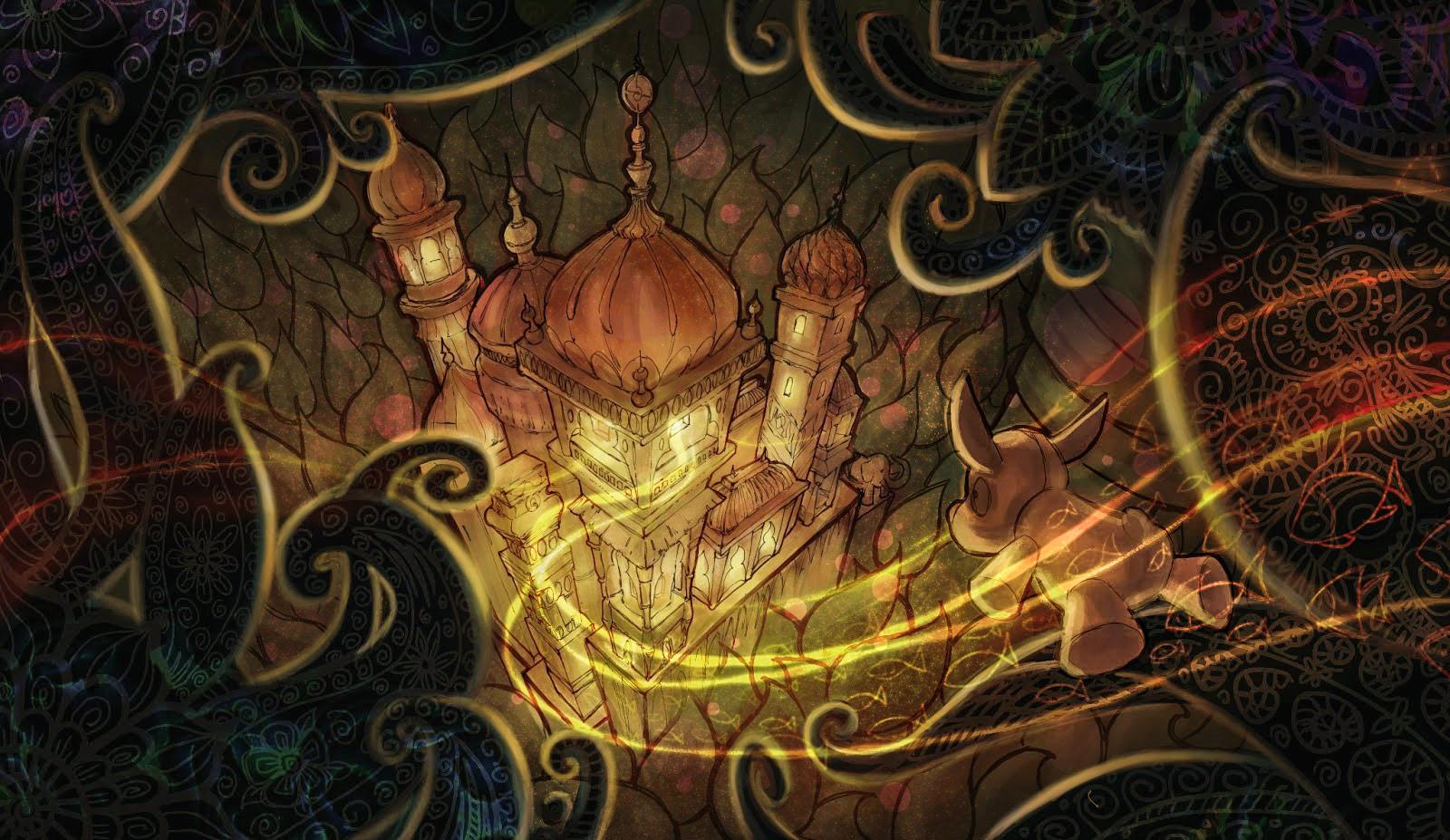 Artaxerxes'in sarayına doğru serüvenine devam eden Roverandom