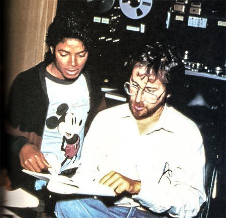Michael Jackson, Steven Spielberg ve Mickey Mouse