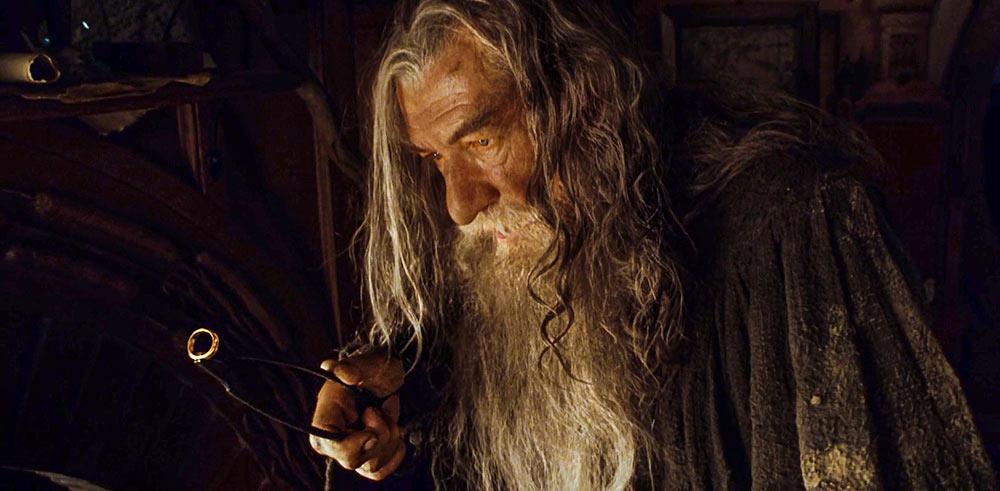 Gandalf kişisel imtihanını yaşayacağı Tek Yüzük ile karşı karşıya