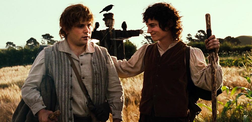 Frodo Baggins ve Samwise Gamgee